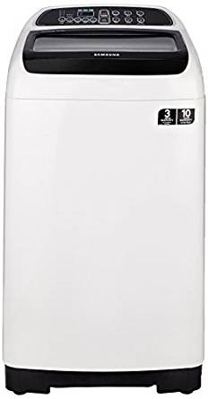 Samsung 6.5 kg Fully-Automatic Top Loading Washing Machine (WA65K4200HA, Sparkling Black and light grey)