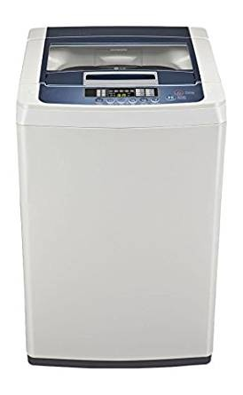 LG T7248TDDLL Fully-automatic Top-loading Washing Machine (6.2 Kg, Cool Grey)