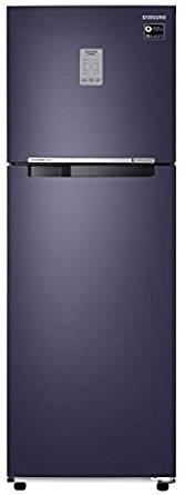 Samsung 321 L 3 Star Frost Free  Refrigerator (RT34M3743UT , Pebble Blue)