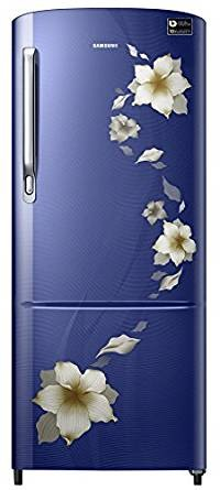 Samsung 192 L 3 Star Direct Cool  Refrigerator (RR19M1823RZ/RR19M2823RZ, Star Flower Blue)
