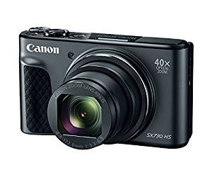 Black : Canon PowerShot SX730 HS (Black)