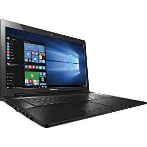 "2016 Lenovo 17 inch Premium Laptop PC, 17.3"" HD+ Display, 5th Intel Core i5-5200U up to 2.7GHz, 8GB Memory, 1TB HDD, DVD+/-RW, HDMI, VGA, Bluetooth, 802.11ac, Webcam, Windows 10"