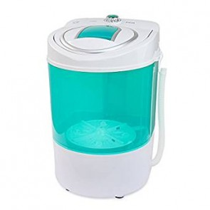 Electric Small Mini Portable Compact Washer Washing Machine 110V, 9LB Capacity