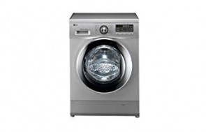 LG F1296QD24 Front-loading Washing Machine (7 Kg, Luxury Silver)
