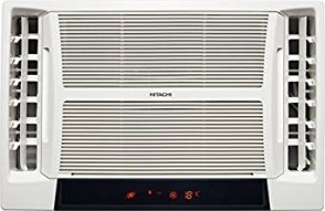 Hitachi 1.5 Ton 5 Star Window AC (RAT518HUD Summer TM, White)