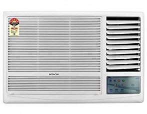 Hitachi RAW122KUD Kaze Plus Window AC (2 Ton, 1 Star Rating, White, Copper)
