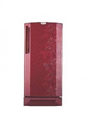 Godrej 190 L 5 Star Direct-Cool Single Door Refrigerator (RD Edge Pro 190 CT 5.2, Lush Wine)