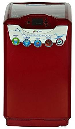 Godrej WT EON 651 PFD Fully-automatic Top-loading Washing Machine (6.5 Kg, Metallic Red)