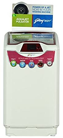Godrej WT EON 701 PF Fully-automatic Top-loading Washing Machine (7 Kg, Metallic Grey and Red Top)