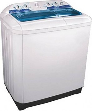 Godrej GWS7201PPL Red Semi-Automatic Top-loading Washing Machine (7.2 Kg, White and Red)