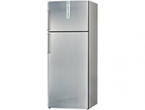 Bosch 450 L 5 Star Frost-Free Double Door Refrigerator (KDN53AL50I, Stainless Steel)