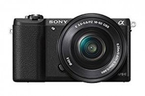 Sony Alpha A5100L 24.3MP Digital SLR Camera (Black) with 16-50mm Lens (ILCE-5100L)