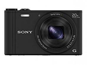 Sony Cybershot DSC-WX350/B 18.2MP Digital Camera (Black)