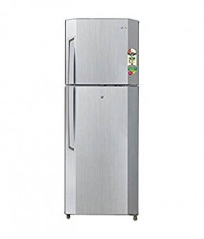 LG 240 L 2 Star Frost-Free Double Door Refrigerator (GL-B252VLGY(BNI), Neo Inox)