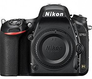 Nikon D750 24.3 Digital SLR Camera (Black) Body Only