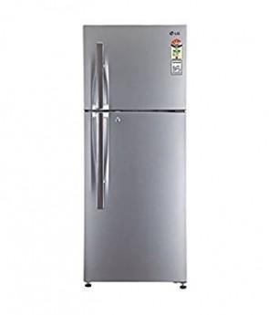 LG 258 L 4 Star Frost-Free Double Door Refrigerator (B292RMTL, Neo Inox)