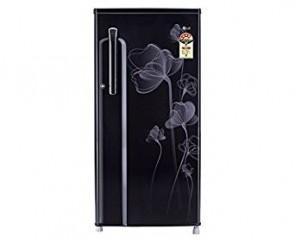 LG 190 L 4 Star Direct-Cool Single Door Refrigerator (GL-B205KVHP(VH), Velvet Heart)