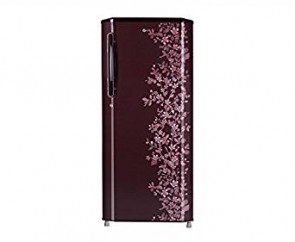 LG 270 L 5 Star Direct-Cool Single Door Refrigerator (GL-B285BSPN (SP), Scarlet Paradise)
