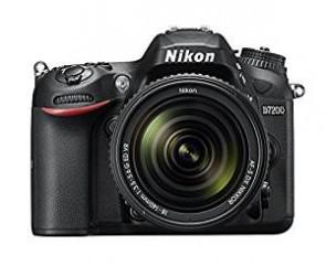 Nikon D7200 24.2 MP Digital SLR Camera (Black) with AF-S 18-140mm VR Kit Lens and Card, Camera Bag