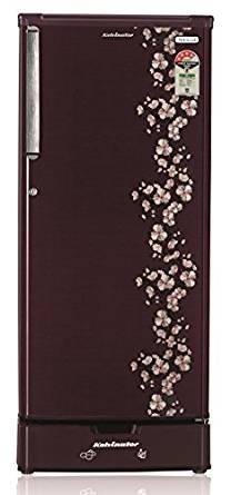 Kelvinator 190 L 4 Star Direct-Cool Single Door Refrigerator (KW204LST, Pastel Red)