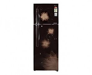 LG 335 L 4 Star Frost-Free Double Door Refrigerator (GL-D372JHSL, Hazel Spring)