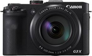 Canon Powershot G3X 20.2MP Digital Camera (Black) with 25x Optical Zoom
