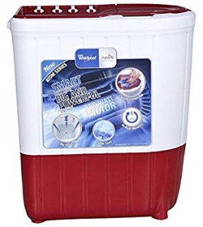 Whirlpool Superb Atom 65S Semi-automatic Top-loading Washing Machine (6.5 Kg, Ruby)