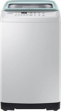 Samsung 6 kg Fully-Automatic Top Loading Washing Machine (WA60H4300HB, Light Grey and Savoy Blue)