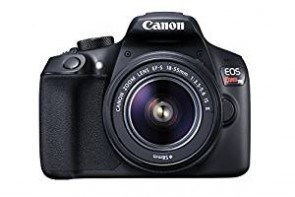 Canon EOS Rebel T6 18MP Digital SLR Camera Kit with EF-S 18-55mm f/3.5-5.6 IS II Lens (Black)