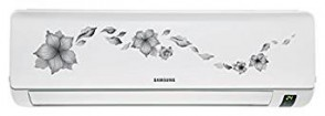 Samsung AR12KC5HATR Split AC (1 Ton, 5 Star Rating, Grey, Aluminium)