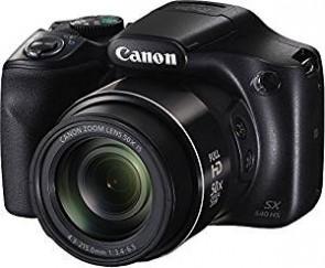Canon PowerShot SX540HS 20.3MP Digital Camera with 50x Optical Zoom (Black) + 8GB Memory Card + Camera Case