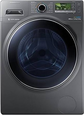 Samsung WD12J8420GX/TL Fully-automatic Front-loading Washing Machine (12 Kg, 3 Star Rating, Inox Body)