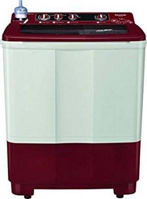 Panasonic 7 kg Semi-Automatic Top Loading Washing Machine (NA-W70B3RRB, Red and White)