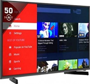 Vu 127 cm (50 inches) Premium Full HD Smart Television Wi-Fi- Android (H50K311) LED TV (Black)