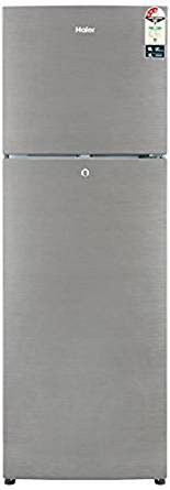 Haier 270 L 3 Star Frost-Free Double Door Refrigerator (HRF-2904BS-R/HRF-2904BS-E, Brushline Silver)