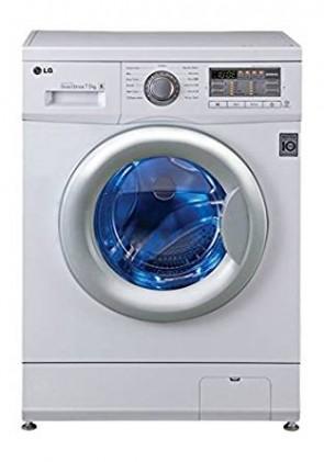 LG FH0B8EDL21 Fully-automatic Front-loading Washing Machine (7.5 Kg, Blue White)