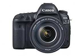 Canon EOS 5D Mark IV 30.4 MP Digital SLR Camera (Black) + EF 24-105mm IS II USM Lens Kit