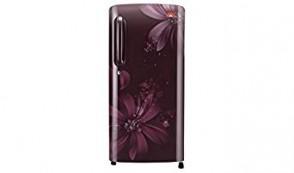 LG 190 L 5 Star Direct-Cool Single Door Refrigerator (B201ASAN, Scarlet Aster)