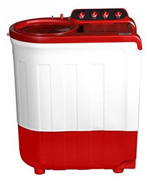 Whirlpool 7 kg Semi-Automatic Top Loading Washing Machine (ACE 7.0 Super Soak, Coral Red)