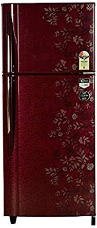 Godrej 240 L 2 Star Frost-Free Double Door Refrigerator (RT EON 240 P 2.4, Lush Wine)