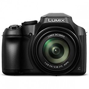 """Panasonic DC-FZ80K Lumix 4K Pt. & Shoot Long Zoom Camera, 18. 1 MP, F2. 8-5. 9, Power O. I. S with 3"""" LCD, Black"""