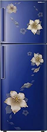 Samsung 253 L 3 Star Frost-free Double Door Refrigerator (RT28K3343U2, Star Flower Blue)