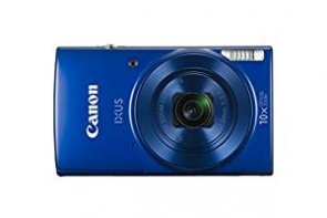 Canon IXUS 190 20MP Digital Camera with 10x Optical Zoom (Blue) + 8GB Memory Card + Camera Case