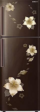 Samsung 253 L 3 Star Frost-free Double Door Refrigerator (RT28K3343D2, Star Flower Brown)