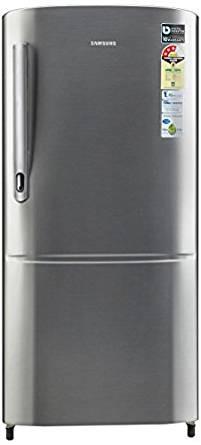 Samsung 192 L 3 Star Direct Cool  Refrigerator (RR20M172ZS8/RR20M272ZS8 , Elegant Inox)