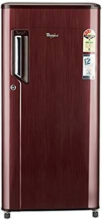 Whirlpool 185 L 3 Star Direct-Cool Single Door Refrigerator (200 IM POWERCOOL PRM 3S WINE TITANIUM-E, Wine Titanium)