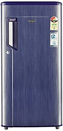 Whirlpool 185 L 3 Star Direct-Cool Single Door Refrigerator (200 IMPWCOOL PRM 3S SAPPHIRE TITANIUM-E, Sapphire Titanium)