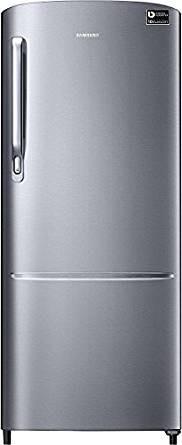 Samsung 212 L 3 Star Direct Cool Refrigerator (RR22M272ZS8, Elegant Inox)