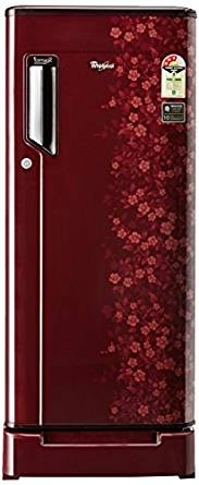 Whirlpool 200 L 3 Star Direct-Cool Single Door Refrigerator (215 IMPWCOOL ROY 3S WINE EXOTICA-E, Wine Exotica)
