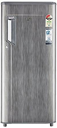 Whirlpool 200 L 3 Star Direct-Cool Single Door Refrigerator (215 IMPWCOOL PRM 3S GREY TITANIUM-E, Grey Titanium)